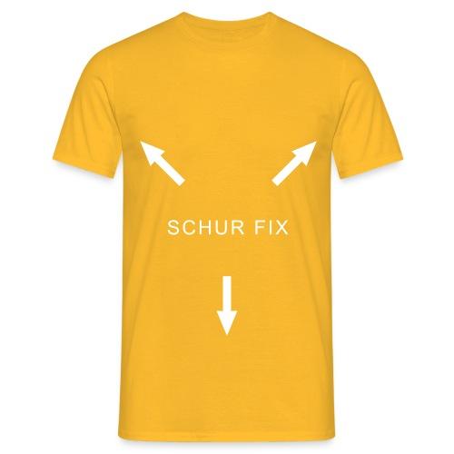 koerper schur fix - Männer T-Shirt