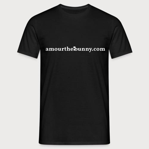 Website Adress White - Männer T-Shirt