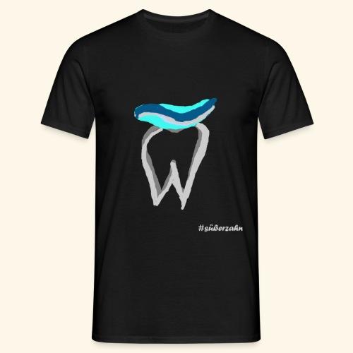 Zahn mit Pasta - Männer T-Shirt