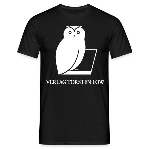 logo spreadshirt invertiert grosse fonts - Männer T-Shirt