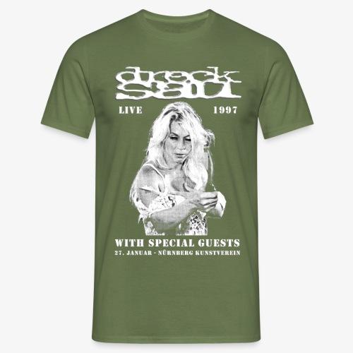 Drecksau Konzert Plakat - Männer T-Shirt