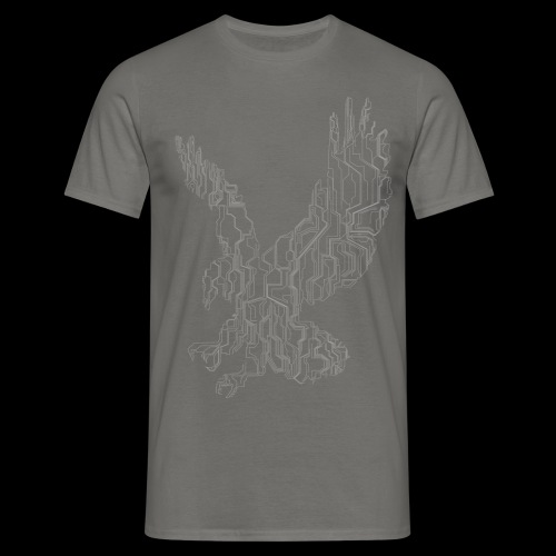 Circuit eagle White - Herre-T-shirt