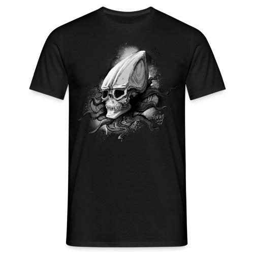 Alien BONE SQL B / W - Men's T-Shirt