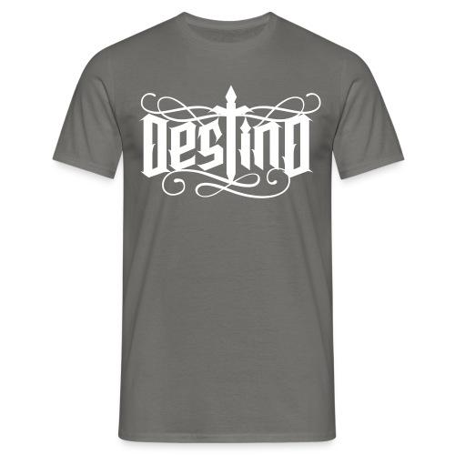 Destino Logo Shirt Männer Schwarz Weiß - Männer T-Shirt