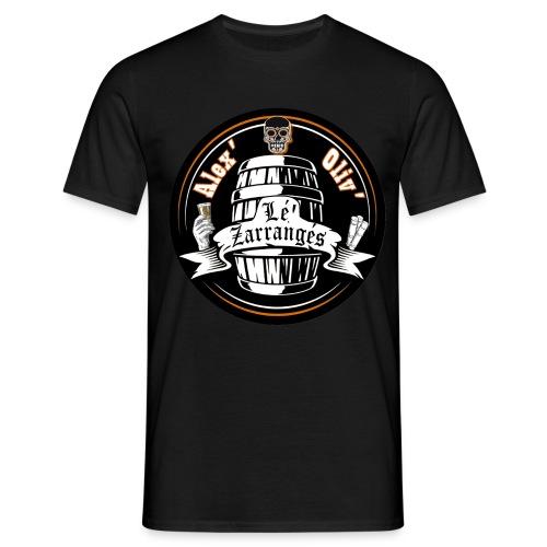 Logo rond Lé Zarrangés - T-shirt Homme