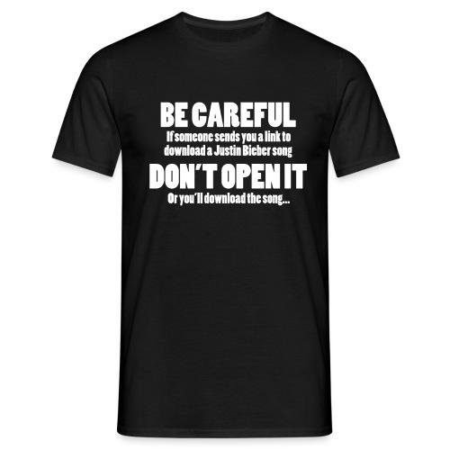Biebersong Black - T-shirt Homme