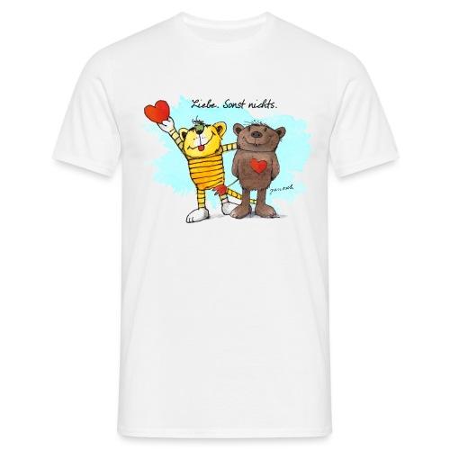 Janosch Tiger Und Bär Beste Freunde Liebe - Männer T-Shirt