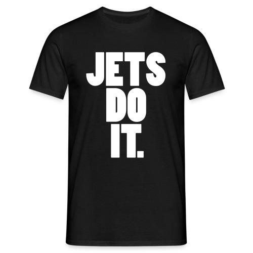 jetsdoitwhite - Men's T-Shirt