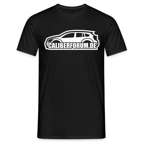 Helles Logo für dunkle Shirts - Männer T-Shirt