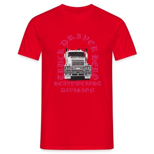 Truck Driver Hero - Maglietta da uomo