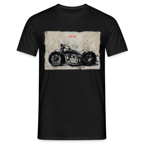 indianschwarz - Männer T-Shirt