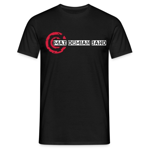 logo shirt deckkraftmaske - Männer T-Shirt