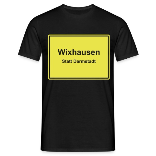 wixhausen statt darmstadt - Männer T-Shirt