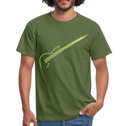 E-Bass - Männer T-Shirt