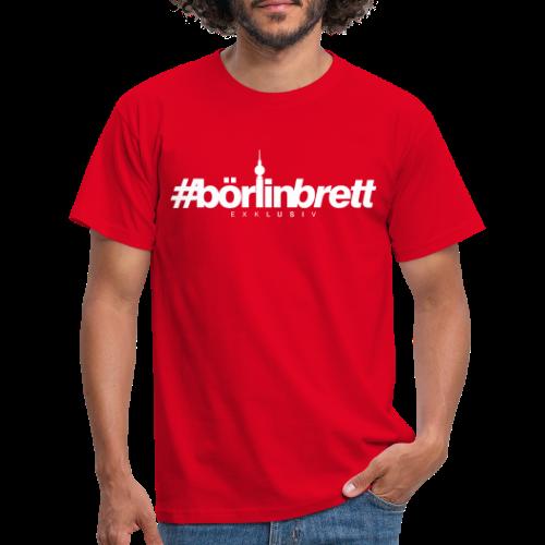 börlinbrett - Männer T-Shirt