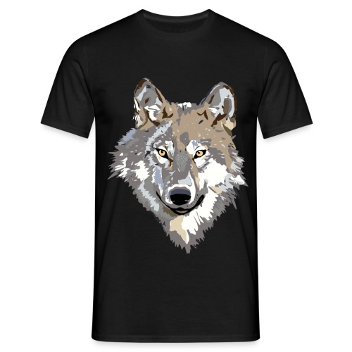 Ulv - Herre-T-shirt