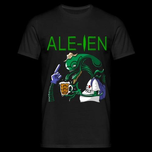 Ale ien Black Dark shirts - Men's T-Shirt