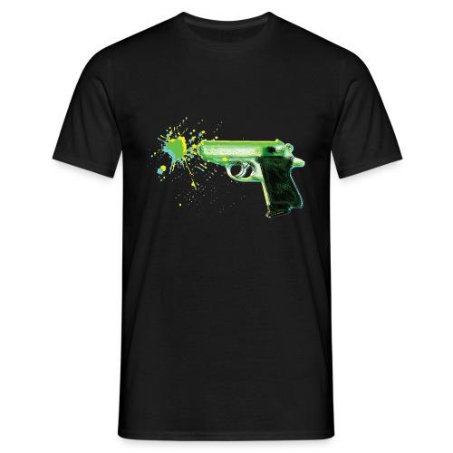 3D GUN 2 - Herre-T-shirt