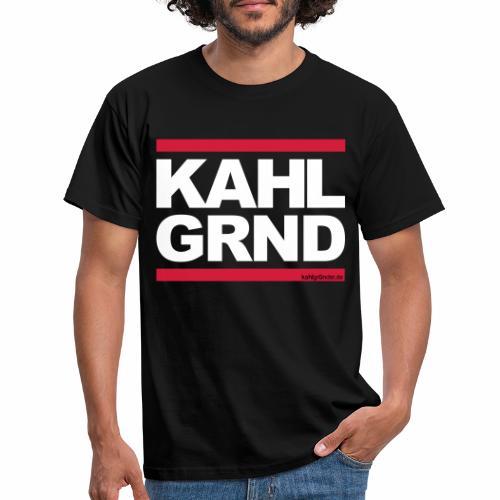 Kahlgründer KAHL GRND - WEIß/ROT - Männer T-Shirt