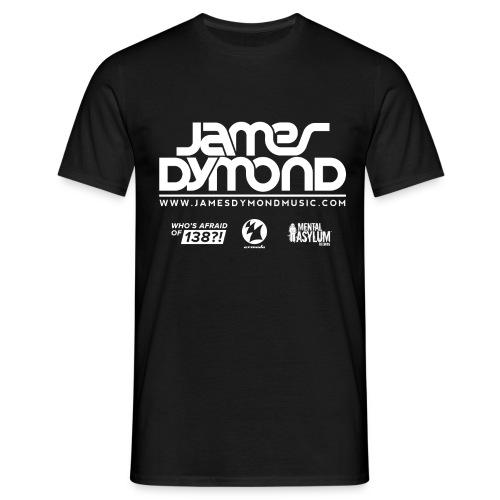 Final JD Shirt Design White 2 png - Men's T-Shirt