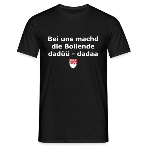 tshirt fragisch bollende - Männer T-Shirt