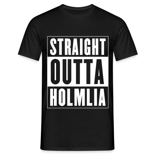 Straight Outta Holmlia - T-skjorte for menn