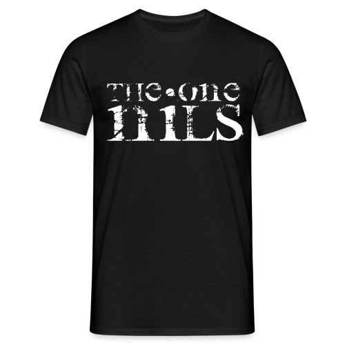 theonenils logo weiss png - Men's T-Shirt