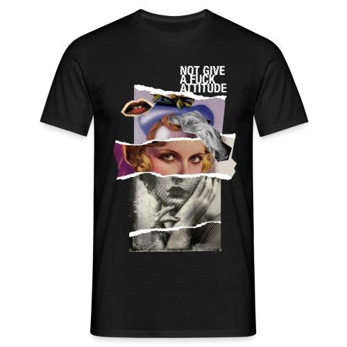 Not Give a F*#K Attitude - Maglietta da uomo
