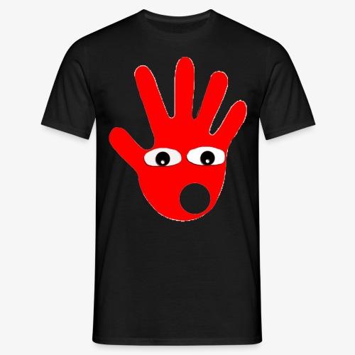 Hände mit Augen - T-shirt Homme