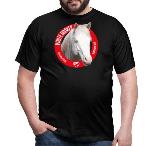 WHITE BROKER - Maglietta da uomo