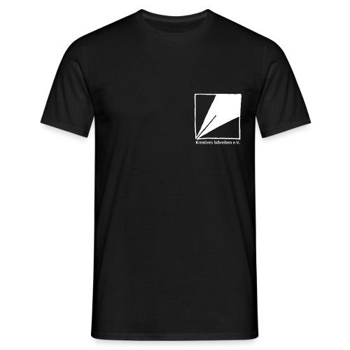 logo weiss - Männer T-Shirt