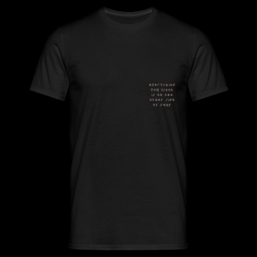 Fear - Men's T-Shirt