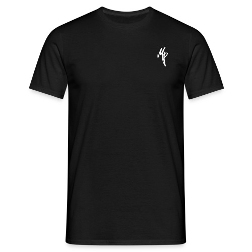 White Signature MP Logo - Men's T-Shirt