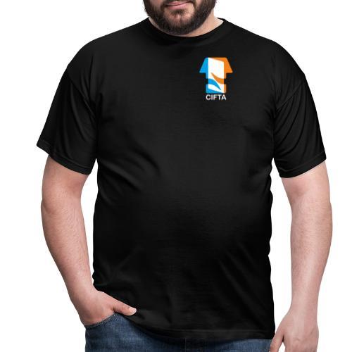 Logo CIFTA final letra blanco - Camiseta hombre