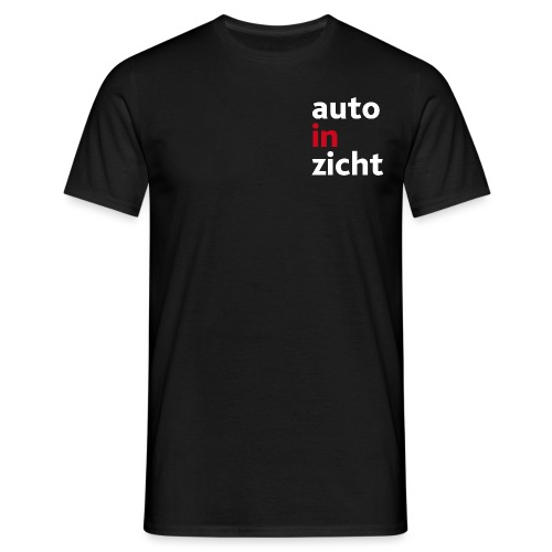 logo-wit-rood - Mannen T-shirt