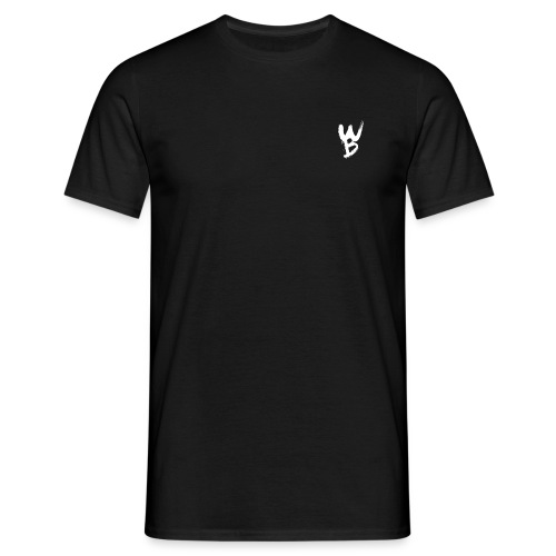 WayanoBoss WB png - Mannen T-shirt