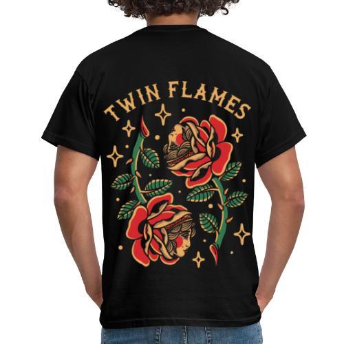 Twin Flames - Miesten t-paita