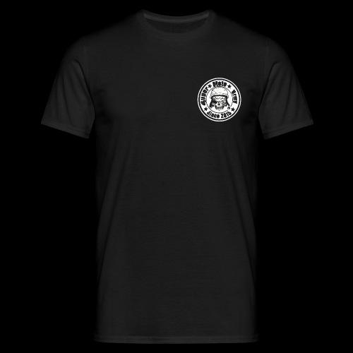 Logo Hoodie Vorne Weiß png - Männer T-Shirt