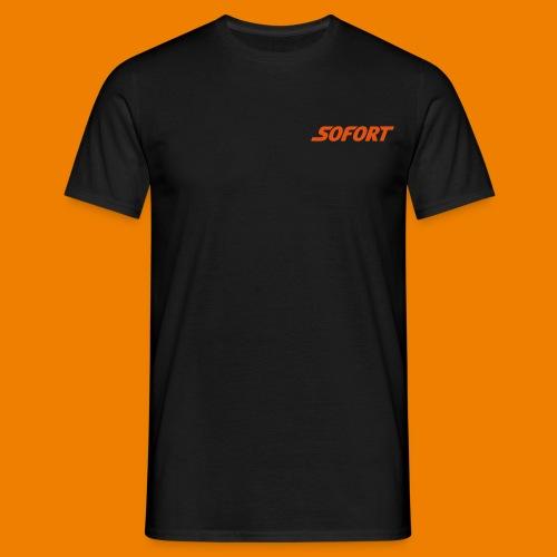 SOFORT Plain - Männer T-Shirt