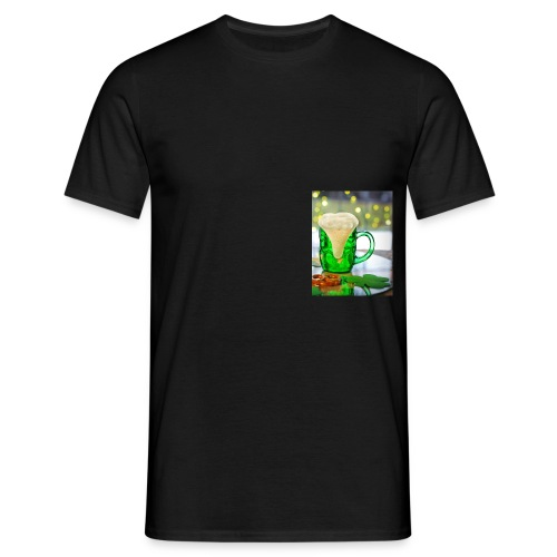 st patricks day green pint crop - Men's T-Shirt