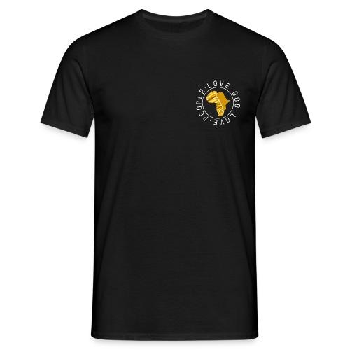 Africa circle - chest - Männer T-Shirt