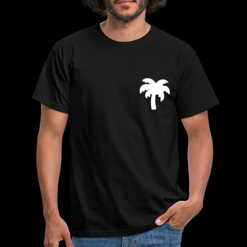 Palm Basic White - Herre-T-shirt
