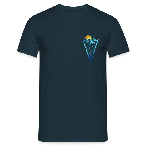 Into the mountains - Men's T-Shirt