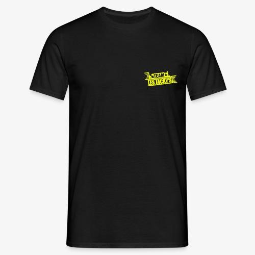 team les jack jaune fluo png - T-shirt Homme
