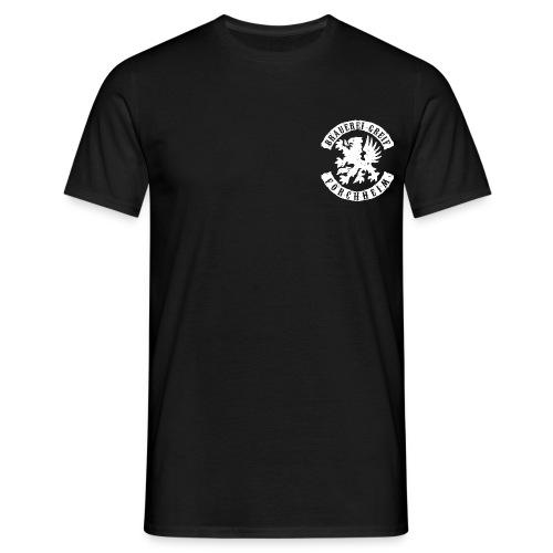 logo 1 white - Männer T-Shirt
