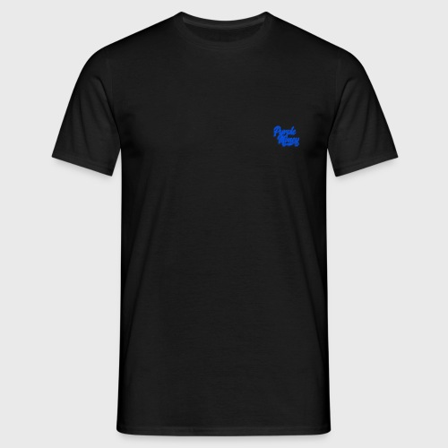 PurpleMoney Blue Authentic Logo - Men's T-Shirt