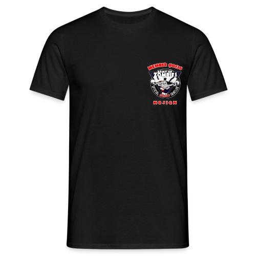 brustlogo aoz0136 - Männer T-Shirt