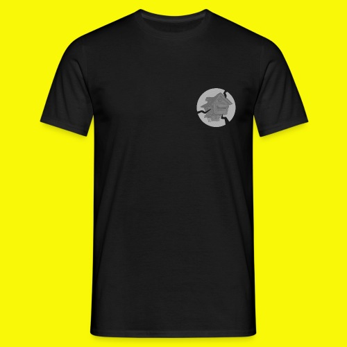 tree grey png - Men's T-Shirt