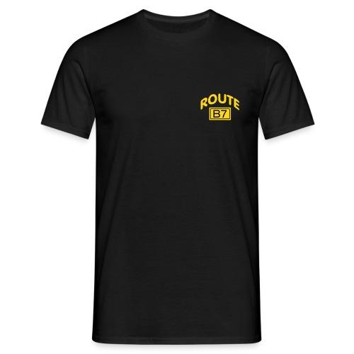 routeb7 cap neu - Männer T-Shirt