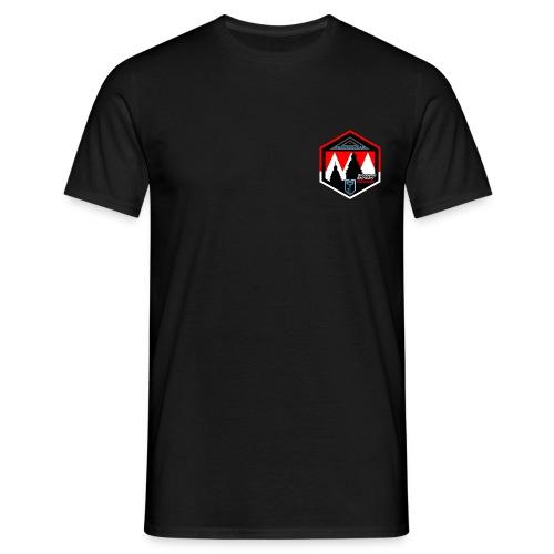 Black back4 - Männer T-Shirt